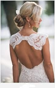 robe mariée dos nu - Recherche Google