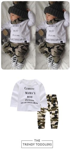 FREE SHIPPING! SHOP Our Mama's Boy Set