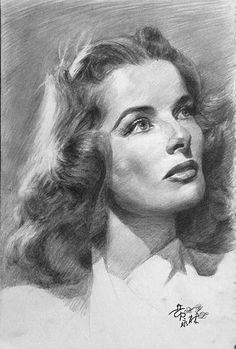 Hepburn  | First pinned to Celebrity Art board here... http://www.pinterest.com/fairbanksgrafix/celebrity-art/ #Drawing #Art #CelebrityArt