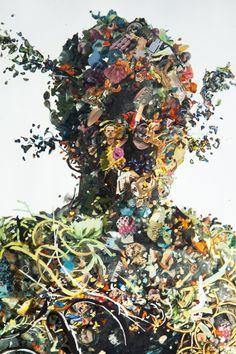 Psychogeographies by Dustin Yellin (NYC) Watch his talk: http://creativemornings.com/talks/dustin-yellin/1