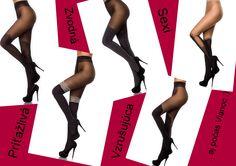sexi pančuchy tights wear stockings hot nylon www.selectafashion.com