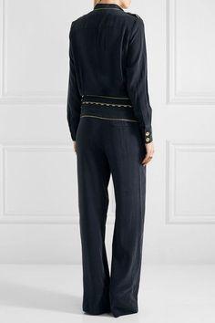 5e898ab79923 Pierre Balmain - Washed-silk jumpsuit