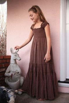 Tutorial for remaking a dress for a smaller person