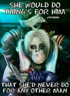 the joker and harley quinn love quotes Bitch Quotes, Joker Quotes, Badass Quotes, Reaper Quotes, Devil Quotes, Qoutes, Harley And Joker Love, Joker Und Harley Quinn, Infp