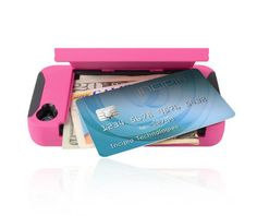 Secret wallet compartment in iPhone case