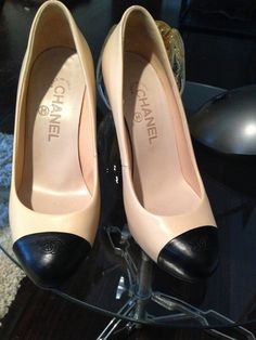 Chanel Classics. My great-grandma used to wear this shoes... She was a real Parisian Girl. I love & miss her