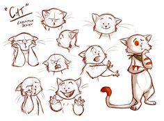Meg Park #cute #characters #cat #sketch