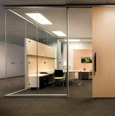 Movable glass walls that you can incorporate into any office space with ease, by Allsteel