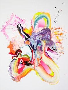 neon pastel art - Google Search