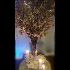 www.flowersbybrian.com Pink Centerpieces, Glass Vase, Table Decorations, Furniture, Home Decor, Decoration Home, Room Decor, Home Furnishings, Home Interior Design