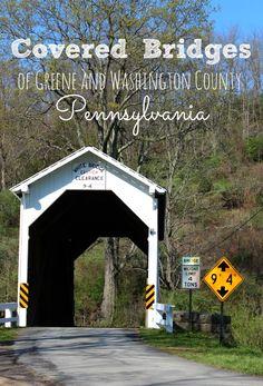 The Covered Bridges of Greene and Washington County Pennsylvania.