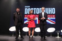 Assista aos Vídeos do encerramento da Turnê Mundial de DOCTOR WHO no Brasil