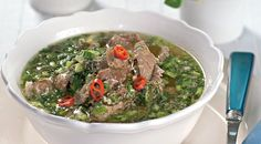 Магирица, греческий пасхальный суп