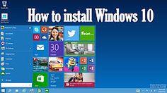 windows 10 setup bangla - YouTube