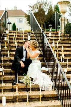 #romantic #wedding #photography #candles @weddingchicks
