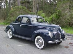1939 Ford Deluxe Deluxe Coupe