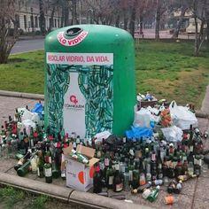 Pendiente de #reciclar #vidrio? by @miguel_andez...