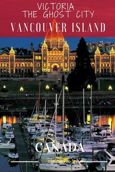 Victoria – The Ghost City of Vancouver Island. From Vancouver's Tsawwassen Ferry terminal I join the throng of people, cars, RVs, trucks, and bikes taking the 1.5-hour BC Ferries trip across to 'The Island'.
