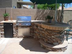 Cinder Block Outside Bar | Verandas • Ramadas • Outdoor Kitchens • Bar-B-Ques