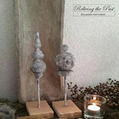 Ornament of pinakel maken