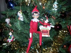 Our elf Kris reminds us that it's only 15 more days until Christmas!