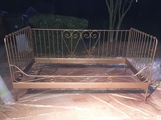 copper meldal daybed rose gold ikea