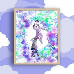 Inside Out Fear Inside Out Cartoon Inside Out by MyGalleryWall