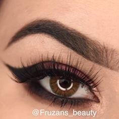 Magical Stunning eye make-up tutorials! Make-up tutorials for simple and enjoyab. Eye Makeup Steps, Makeup Eye Looks, Simple Eye Makeup, Makeup For Brown Eyes, Natural Makeup, Makeup Tips, Makeup Videos, Makeup Lessons, Makeup Art