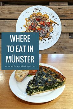 Don't know where to eat in Munster, Germany? These are the places I went to.