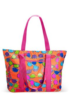 Sunglass Print Beach Tote-Plus Size Tote-Avenue Swimwear 2015, Beach Sunglasses, Plus Size Swimwear, Plus Size Fashion, Diaper Bag, Thighs, Fashion Outfits, Purses, Boots