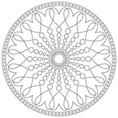 Click to see some great Valentines Day kids yoga resources and this Mandala ~ Kids Yoga Guide ~ Namaste & Play!