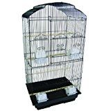 YML 3/8-Inch Bar Spacing Tall Shell Top Bird Cage, 18... -- More info could be found at the image url.