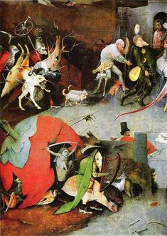 Temptation of St. Anthony (detail), Hieronymus Bosch