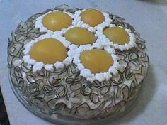 Foto: Bolo delícia de coco com pêssego Ficou com água na boca?  Anote a Receita: http://www.showdereceitas.com/receita-bolo-delicia-coco-pessego/