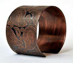 Copper Embellished Cuff