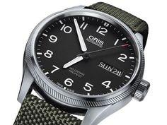 Reloj Oris Big Crown Pro Pilot, movimiento automático, caja de acero de 41 milímetros de diámetro con el fondo transparente.