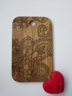 Hey, I found this really awesome Etsy listing at https://www.etsy.com/listing/224641572/personalized-cutting-board-mehendi
