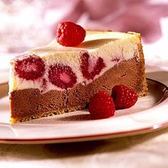 chocolate-raspberry cheesecake | Quick Recipes & Kitchen Tips