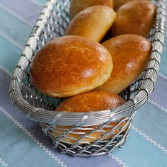 Brioche Hamburger Buns | Flour Arrangements