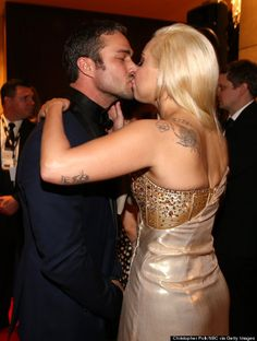 Lady Gaga Taylor Kinney I have a hard time with this....