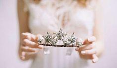 Accesorios de novia: Tendencias para 2015 - Diadema en forma de estrella