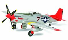 """1/48 N America P-51D Mustang, """"Tuskegee Airmen"""" by Tamiya America, Inc. $32.51. For young adults & adults. KEEP ALL MODEL KIT PARTS AND TOOLS AWAY FROM YOUNG CHILDREDN. Manufacturer Item #: 25147. Requires glue, paint, and basic model building tools (All sold separately).. Precision ASSEMBLY & PAINTING REQUIRED plastic model kit with parts mounted on sprues. Tamiya Customer Service Contact: 800-826-4922. 1/48 Scale. Includes pilot figure"""