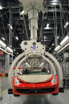 Building a Ferrari. #Ferrari #Italy #Modena