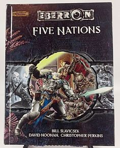 Eberron Five Nations Dungeons & Dragons 3.5 Edition Hardcover (NEW)