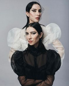 The Veronicas for Stella Photography: @ georgesantoni Makeup: @ nonismithmakeup Styling: @ nbonython Hair: @ darenborthwick. New single called Think of Me Girl Bands, Veronica, Halloween Face Makeup, Hair Styles, Womens Fashion, Photography, Hair Plait Styles, Photograph, Hair Makeup