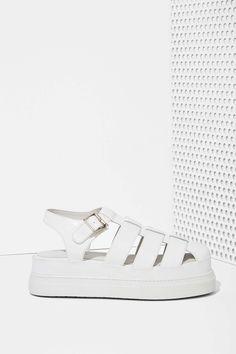 Jeffrey Campbell Faldo Leather Sandal