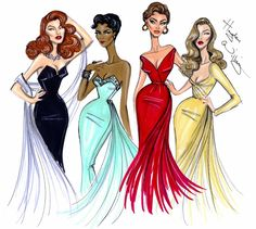 Hayden Williams Fashion Illustrations: Hollywood Icons by Hayden Williams