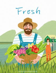 Character Illustration, Digital Illustration, Graphic Illustration, Art Inspo, Painting Inspiration, Food Web Design, Cute Pastel Wallpaper, Nature Vector, Freelance Illustrator