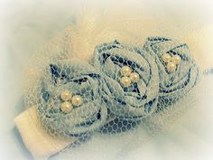 Togs, here's a TUTORIAL to make your own cute vintage baby headbands! :)  On www.u-createcrafts.com