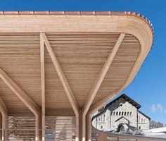 Kulm Eispavillon / Foster + Partners Photos © Nigel Young